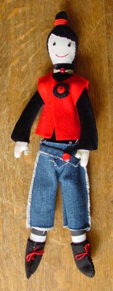 Una-na doll - Pansy Dollington