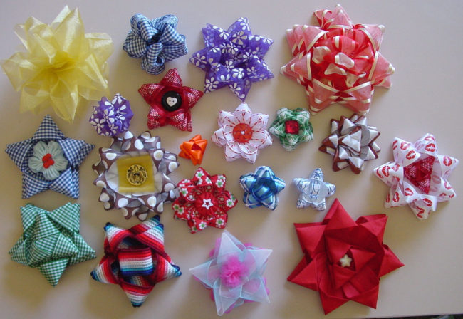Bows made on the Clover bow makers