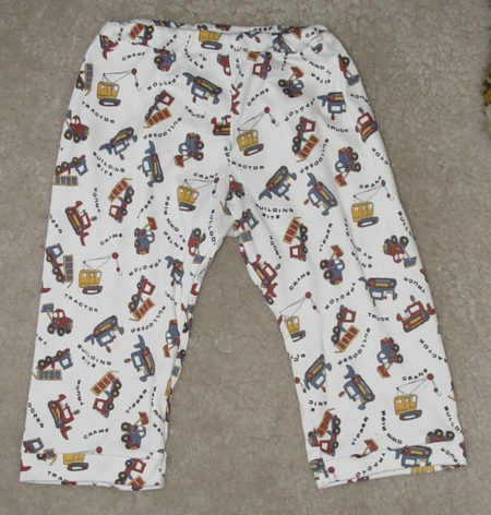 Baby knit pyjama pants
