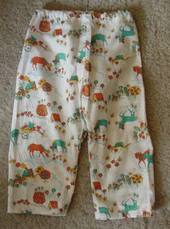 Baby pyjama pants