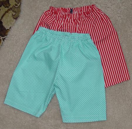 Short baby pyjama pants