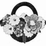 Flower Basket Brooch
