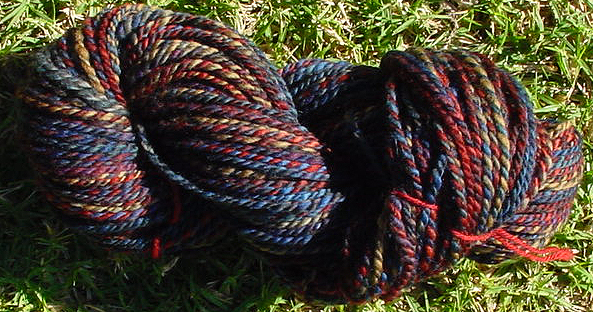 2 ply worsted weight handspun
