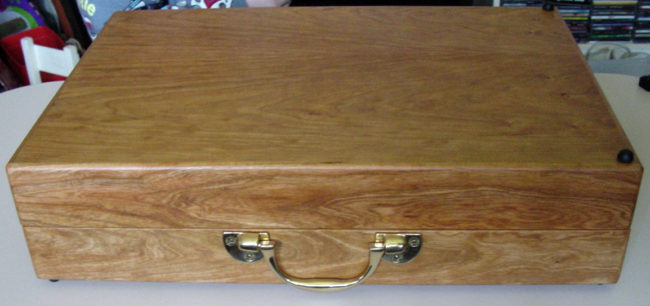 Bosworth attache case charkha, closed