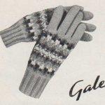 Gale, Fair-Isle Gloves for Girls