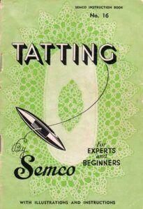 Semco tatting book number 16 - cover