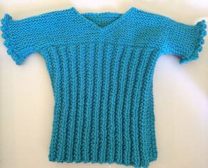 Vest from Knitting Patterns for the Handspinner - wool