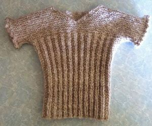 Vest from Knitting Patterns for the Handspinner - alpaca