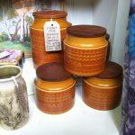 1970's ceramic kitchen jars