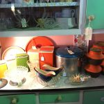 Kitchen storage from the 50's to the 70's
