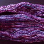 Skein of Purple Twist Novelty Yarn