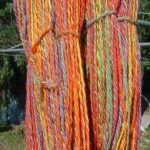 Skein of Rainbow Yarn