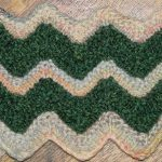 Knitted Chevron Stitch