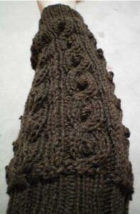 Bobbled Cable Leg Warmers by Lisa Dayringer