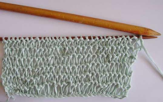 Sample of condo knitting