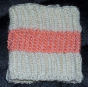 """Honeycomb Cuffs"" from Exercises in Knitting by Cornelia Mee"