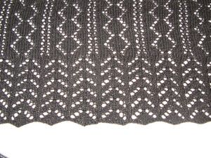 Sample for Beautiful pattern for a scarf by Cornelia Mee