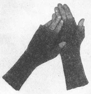 Fingerless mitts. First published in 1933