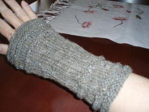 Gentleman's cuffs from Cornelia Mee's Exercises in Knitting