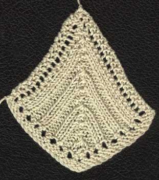 Bedspread (Hexagonal Counterpane) motif