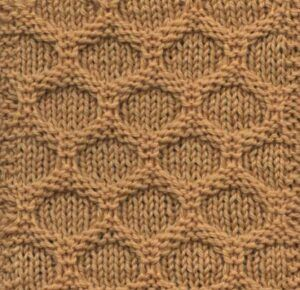 Honeycomb pattern no 2 from Home Work, 1891