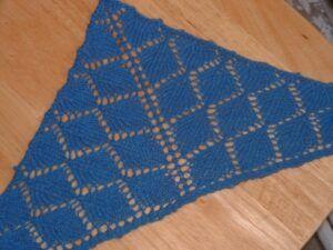 Leaf lace kerchief