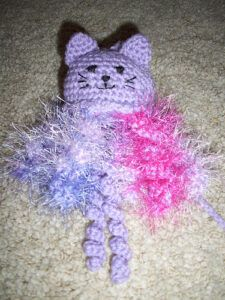 Octo-puss cat toy