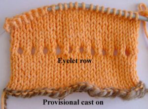 Picot hem instructions 1
