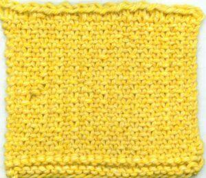Sugar Plum stitch - right side