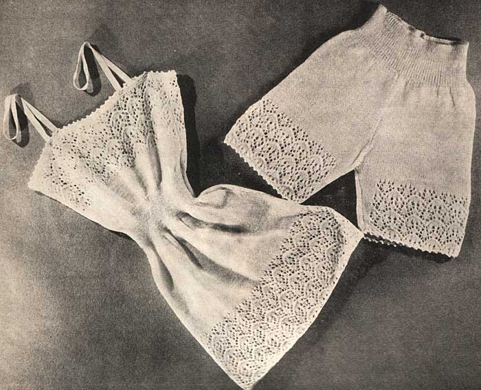 Vest and Panties (Vintage)