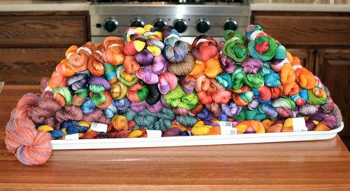 Yarn porn photo, courtesy of Abby's Yarns
