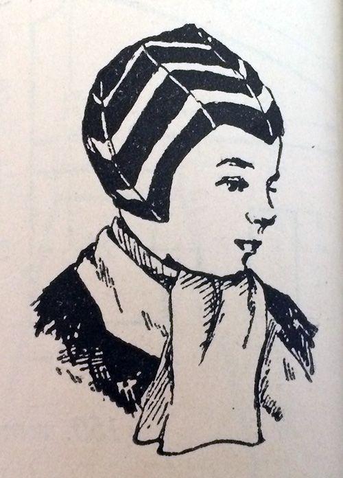 Boy's hat from Adījumu Raksti un Adīšanas Technika