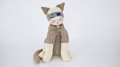 Sock Cat by Professor Pincushion