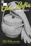 Cane and Raffia by Homecrafts c1950