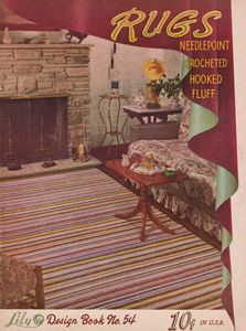 Cover of Rugs,Lily Design Book No. 54