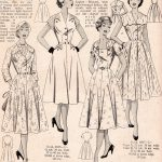 Vintage Dresses with Interesting Shoulder Details