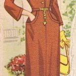 Brown Dress with Pockets
