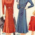 Vintage Dresses with Yoke Detailing