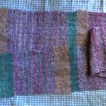Plain weave scarf made on a rigid heddle loom