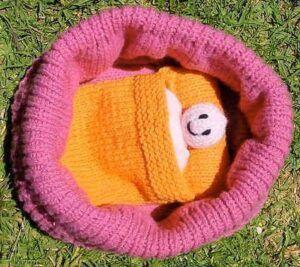 Baby Doll Cradle Purse by Sarah Bradberry