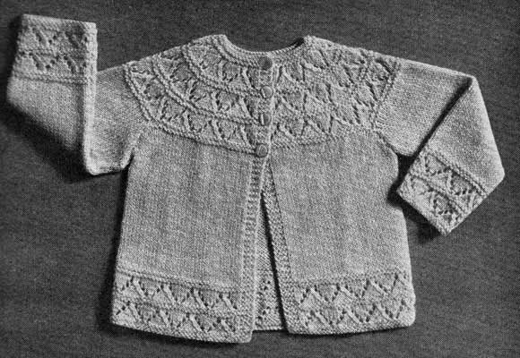 Puss Baby Cardigan Sweater Knitting And Com