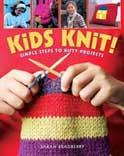 Knitting book for children