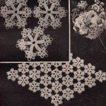 Tatted Snowflake Doily