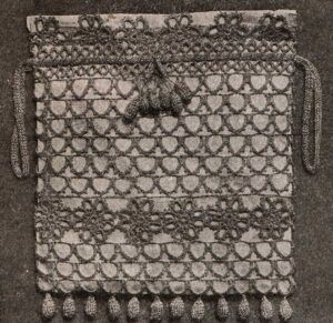Tatted and Crocheted Bag from The Modern Priscilla for March, 1913