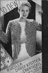 Bucilla Daisy Knitter Creations No. 55 Flower Loom Pattern Book
