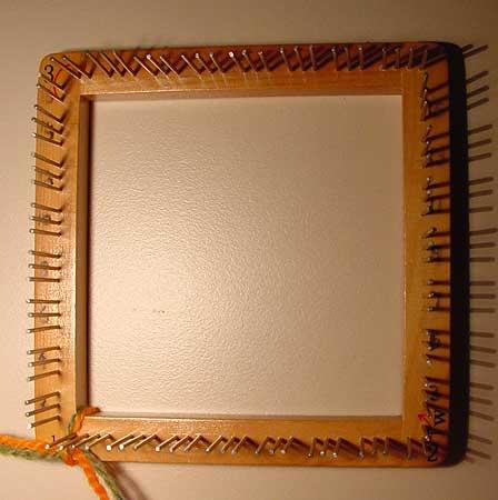 4 inch weavette loom