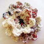 Cluster Stitch Loomed Flowers