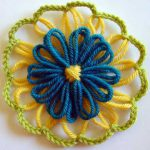 Double Layer Flowers on Any Single Layer Flower Loom