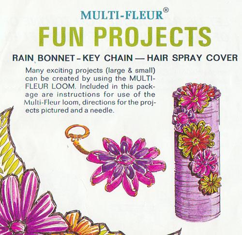 Cover of the studio twelve multi-fleur instruction sheet