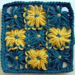 Weave Stitch for Joining Square Loomed Flowers